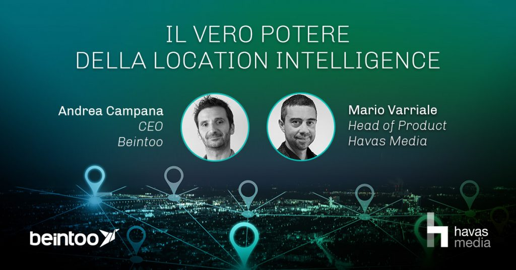 location intelligence; beintoo; havas